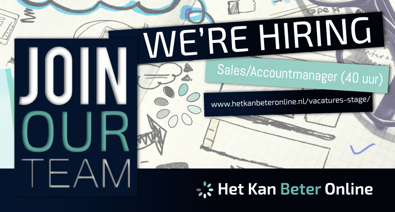 Vacature Stage Werken HKBO Salesmanager Accountmanager